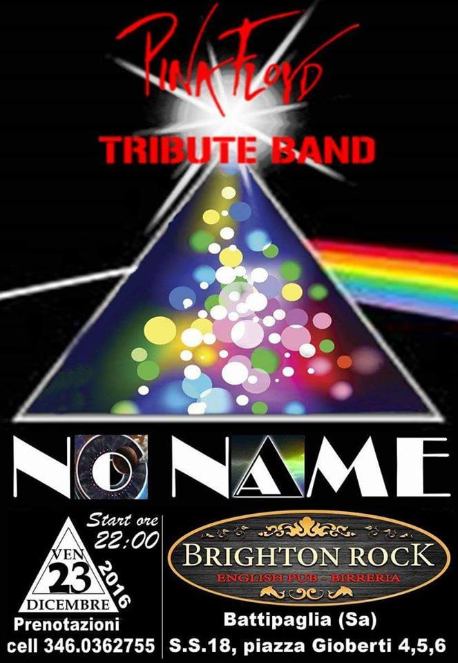 No Name Pink Floyd Tribute Band